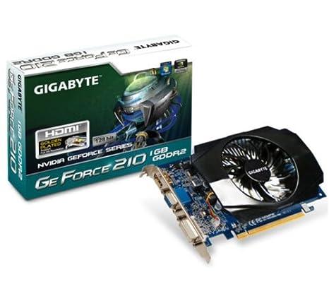 Gigabyte GV-N210D2-1GI GeForce 210 1GB DDR2 - Tarjeta ...