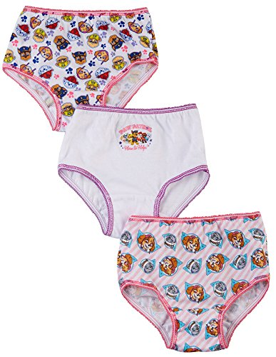 Nickelodeon Paw Patrol Toddler Girls 3 Pack Girls Underwear Panties (2T/3T) (Girls Underwear Nickelodeon)