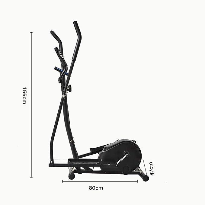 YXRPK Bicicleta Elíptica Máquina Ejercicios Fitness Cross Trainer ...