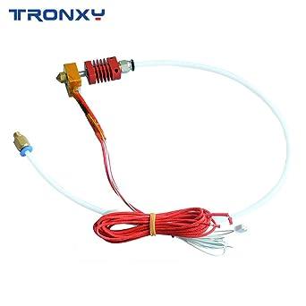 TRONXY extrusor original montado MK8 Hotend Kit para impresora 3D ...