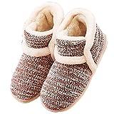 Miyang Winter Vintage Arctic Solid Indoor Boot Slippers | amazon.com