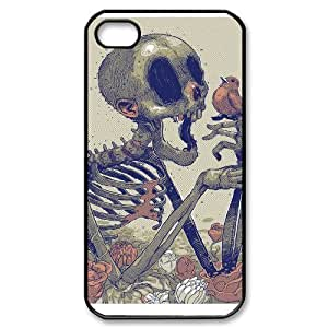 Skull iPhone 4/4s Case Black Yearinspace996340