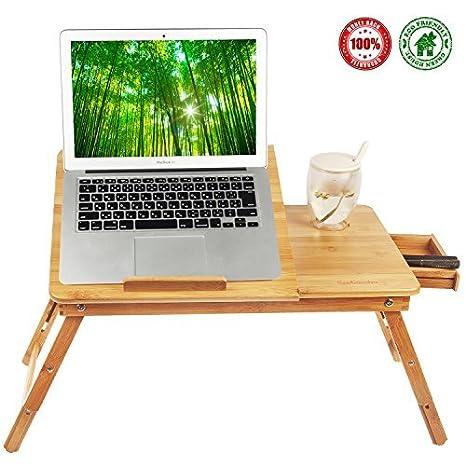 Laptop Desk Tray,Computer, Notebook, Ipad, Book Holder U0026 Stand , Breakfast