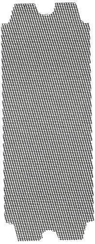 Drywall Sanding Screen 4 3/16in.x 11 1/4 in.80 Grit 12pcs