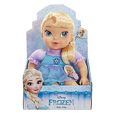 Disney Frozen Deluxe Elsa Baby Doll: Toys & Games