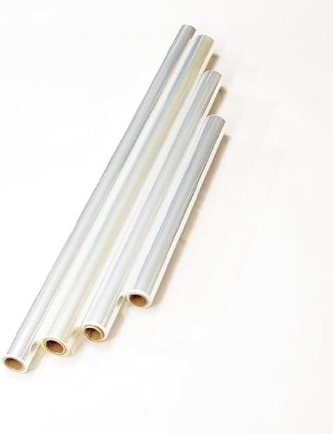 100 Feet Clear Cellophane Roll 30 x 100 Cello Wrap
