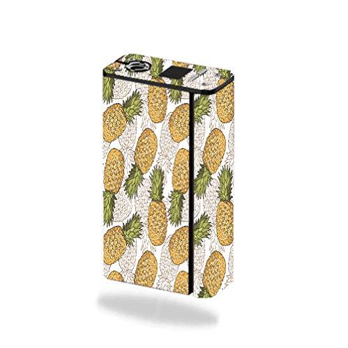 Decal Sticker Skin WRAP - Smok XCube Mini 75W - Pineapple Pattern