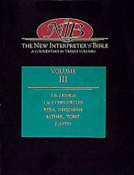 New Interpreter's Bible: v.3: A Commentary in Twelve Volumes: Vol 3