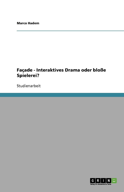 Façade - Interaktives Drama oder bloße Spielerei? (German Edition)