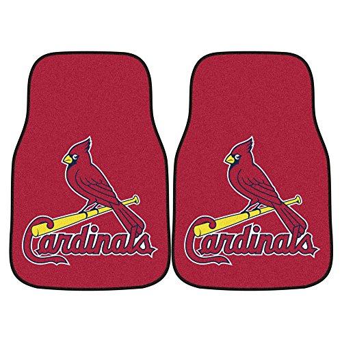 FANMATS MLB St Louis Cardinals Nylon Face Carpet Car Mat