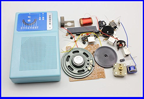 6 Tube Superheterodyne Radio Kit Six Tube AM AM Radio DIY Maker S66E S66D Parts