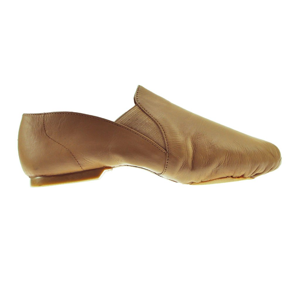 Active Black Slip On Jazz Shoe by Starlite 8.5L 6yDzX