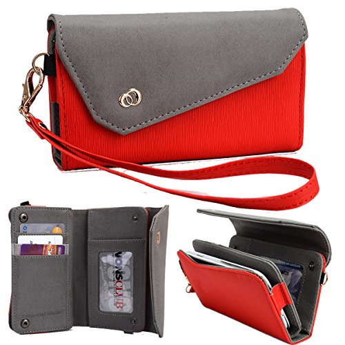 NuVur Universal Textured All-in-One Wallet Clutch Smartph...