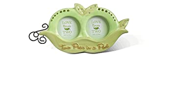 Amazoncom Grasslands Road Two Peas In A Pod Twins Frame Baby