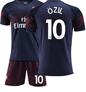 quality design 9114b 6462b LISIMKE Men's 18/19 Arsenal Ozil #10 Away Soccer Jersey ...