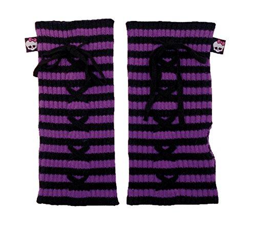 [Monster High Purple Lace Arm Warmer] (Monster High Arm Warmer)