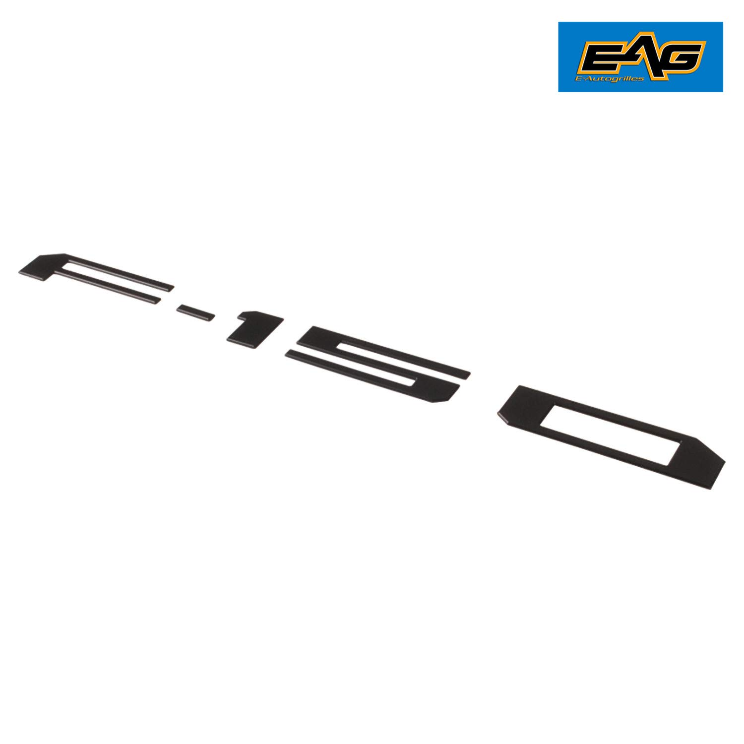 EAG Rear Tailgate Insert Letters Fit for 2018 2019 Ford F-150 Matte Black