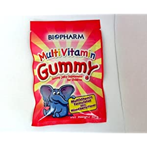 BIOPHARM MULTIVITAMIN GUMMY JELLY SUPPLEMENT FOR CHILDREN 60 g.