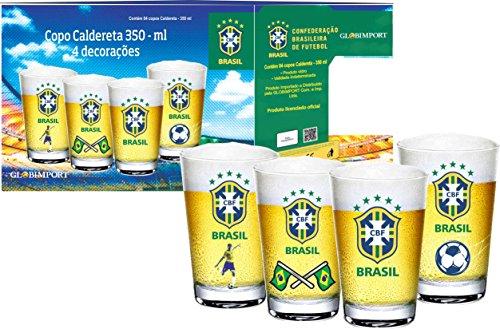 Conjunto Copos Cerveja Globimport Transparente