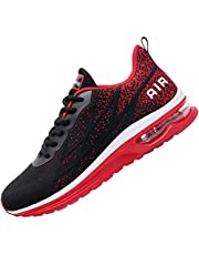 Impdoo Mens Air Athletic Running Sneaker Cute Fitness Sport Gym Jogging Tennis Shoes (US7-12 B(M)