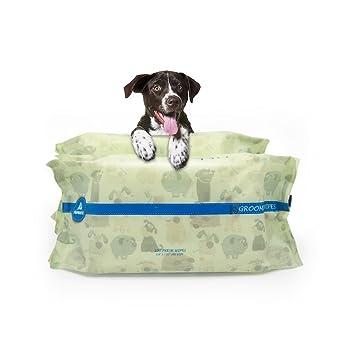 PUPMATE Toallitas para Mascotas para Perros y Gatos, Extra Húmedas y Gruesas toallitas para Cachorro con 200 Unidades de Desodorización e hipoalergénicas, ...