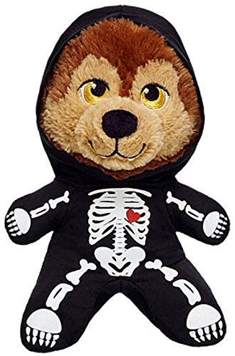 Build a Bear Moons Glow Werewolf Skeleton Onesie Outfit 7 in. Buddies Mini Stuffed Plush Toy Animal]()