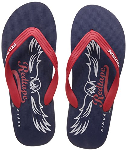 Red Tape Men's Flip-Flops and House Slippers