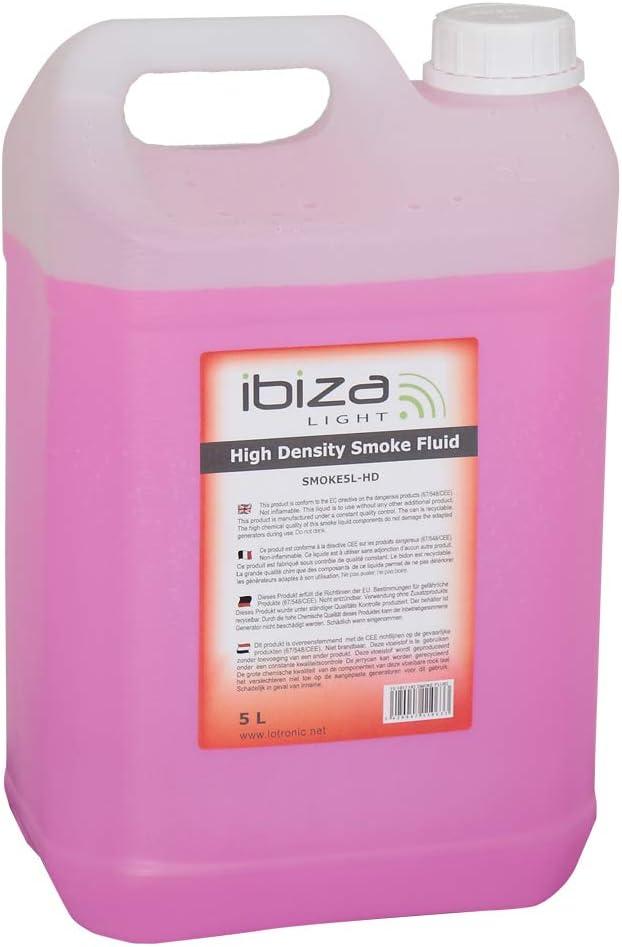 Ibiza SMOKE5L-HD - Liquido de Humo de Alta Densidad 5L