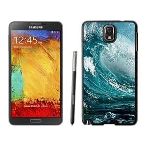 NEW Unique Custom Designed Samsung Galaxy Note 3 N900A N900V N900P N900T Phone Case With Ocean Wave Surf_Black Phone Case