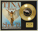 TINA TURNER Limited Edition Gold 45 Record Display. Only 500 made. Limited quanities. FREE US SHIPPING