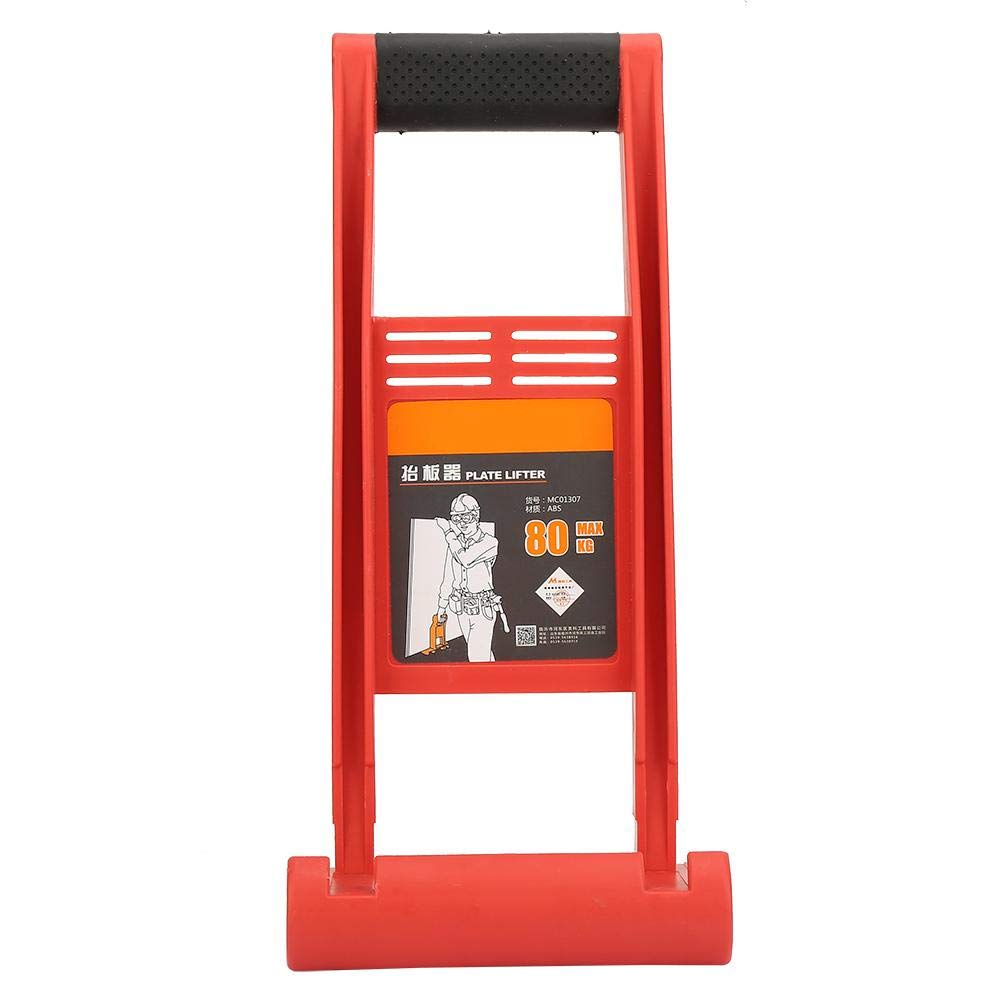Liukouu 80Kg ABS Panel Lifter Board Carrier Plate Plywood Loader with Skid-Proof Handle