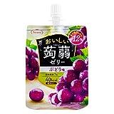 Tarami delicious konjac jelly grapes taste 150gX6 pieces