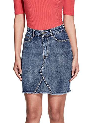 GUESS-Womens-Halsey-Cutoff-Mini-Skirt
