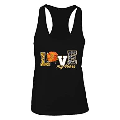 new products ec786 47d3f Amazon.com: Long Beach State 49ers T-Shirt Love My Team ...