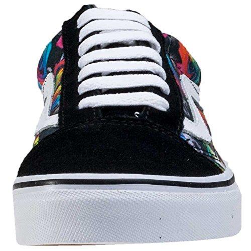 5cbee4a0b26 delicate Vans Unisex Old Skool (Rainbow Floral) Skate Shoe ...