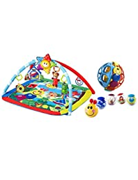 Baby Einstein Caterpillar and Friends Play Gym with Pillar Balls & Bendy Ball BOBEBE Online Baby Store From New York to Miami and Los Angeles