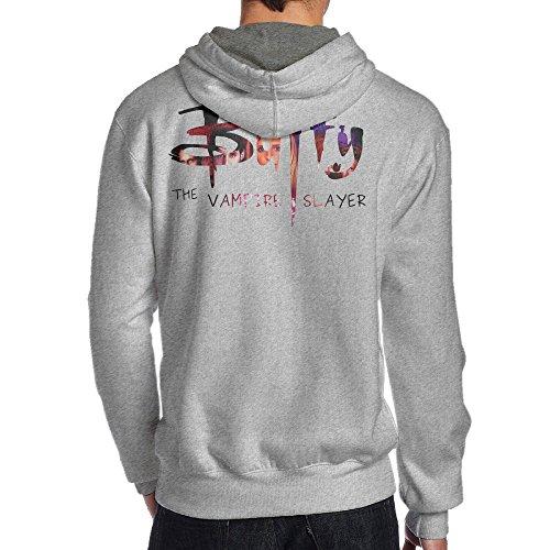 [TYEJML Buffy The Vampire Slayer Men's Pullover Hooded Sweatshirt L Ash] (Buffy The Vampire Slayer Movie Costume)