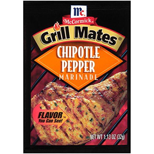McCormick Grill Mates Chipotle Pepper Marinade, 1.13 oz (Case of 12)