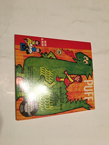 (PUFF THE MAGIC DRAGON 45 RPM BOOK AND RECORD SET)