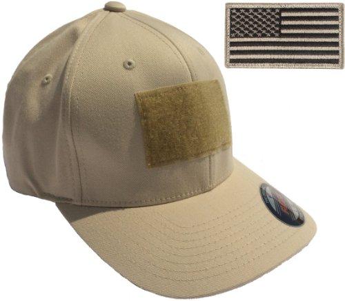 (Flexfit Mid-Profile Tactical Cap (Large/X-Large (7 1/8 - 7 5/8), Stone))