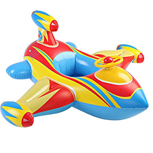 Happy Shoping Inflatable Children Swimming Aircraft