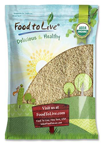 Organic Thai Jasmine Brown Rice, 15 Pounds - Non-GMO, Raw, Whole Grain, Non-Irradiated, Kosher, Vegan, Bulk