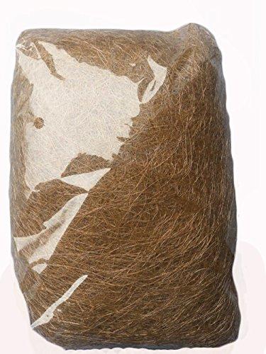 AAYU Jute Fiber Moss Natural Fiber Moss || Eco-Friendly Jute Product || 500 Grams or 17.6 Ounces || No Artificial Color || Excellent Fiber Material || Pet Bed and Bird Nest|| Easter Basket Fill