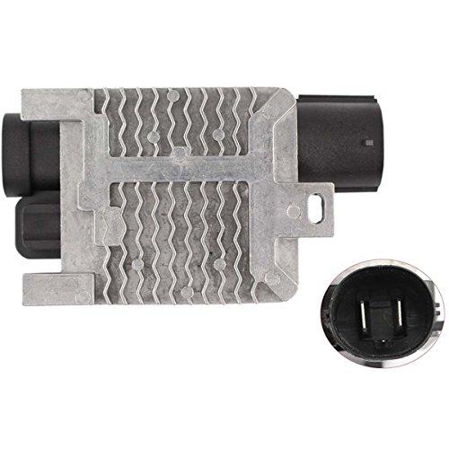 6W1Z-8B658-AC Engine Radiator Cooling Fan Control Module Relay ECU for Ford Crown Victoria, RR28 6W1Z-8B658-AC 940002904 RY1532 902-209 by Amhousejoy (Ecu Engine Control Module)