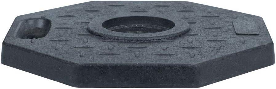 Absperrpfosten mobil mit massiver Bodenplatte 115cm hoch Kettenst/änder Poller