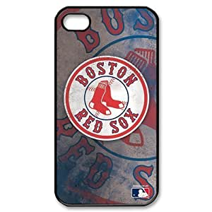 Top Designer Iphone Case MLB Boston Red Sox Retro Vintage Style for Iphone 4 4s Case Cover