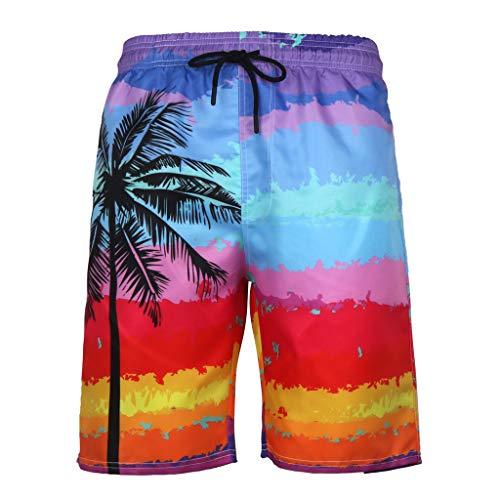 (Hybrid Board Shorts, Shybuy Fashion Short Sexy Beach Shorts Swim Trunks Quick Dry Short Beach Pants for Men)