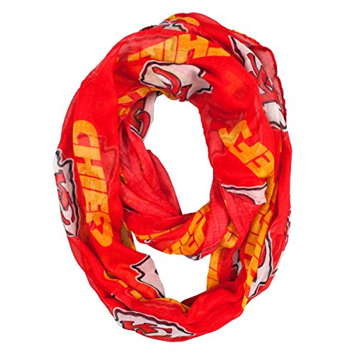 NFL Kansas City Chiefs  Sheer Infinity - Mall Kansas Outlet City