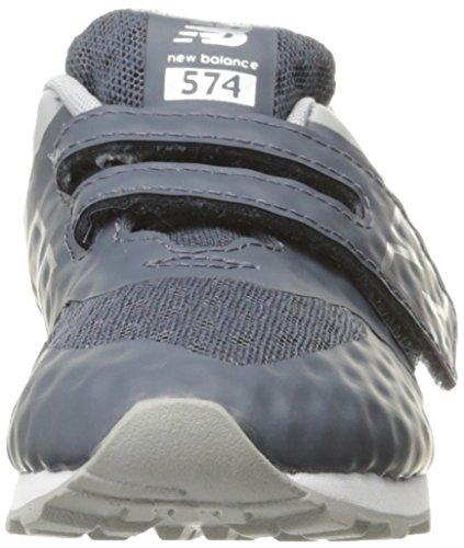 New Formateurs Grey Mixte 574 Gris Balance Enfant Velcro rOCwrtq