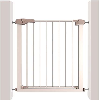 Pare la puerta de la escalera Puerta de la escalera extensible, sin taladrar, cierre automático fácil y abierto, apto para escaleras, cocina, sala de estar, balcón: Amazon.es: Bebé